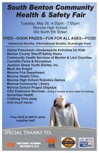 Sp15 Monroe Health Fair Poster
